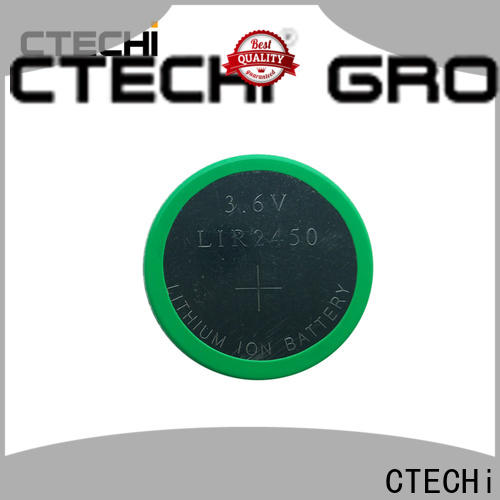 CTECHi rechargeable coin cell design for household
