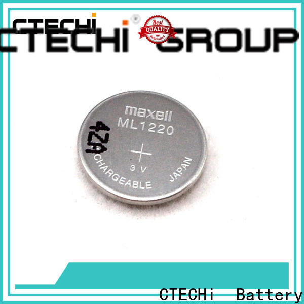 CTECHi rechargeable button batteries wholesale for household