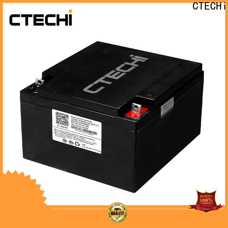CTECHi lifepo4 pack supplier for Golf Carts
