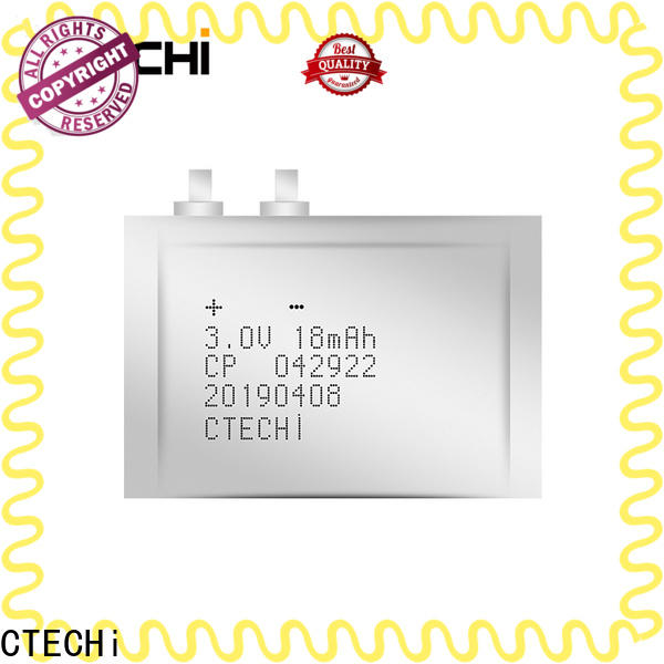 CTECHi reliable ultra-thin battery from China for factory