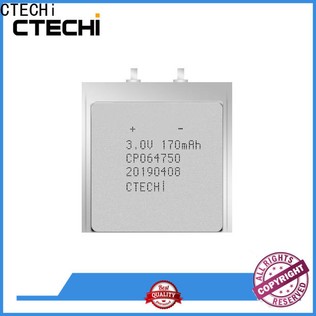 CTECHi micro-thin battery directly sale for industry