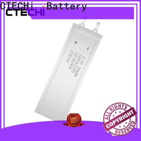 CTECHi ultra-thin battery customized for manufacture