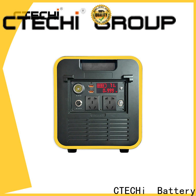 sturdy portable power station personalized for camping
