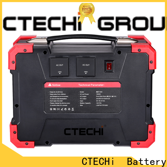 CTECHi 1500w power station personalized for camping