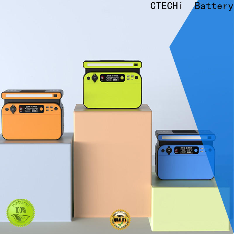 CTECHi professional lithium ion power station customized for camping