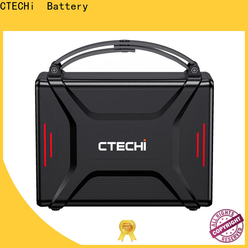 professional battery power station personalized for camping