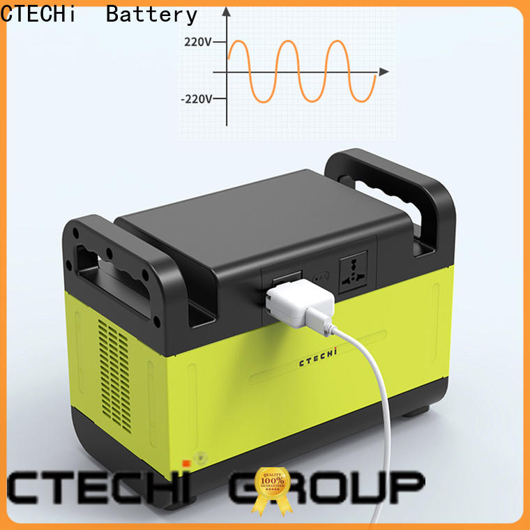 CTECHi sturdy lifepo4 power station factory for household
