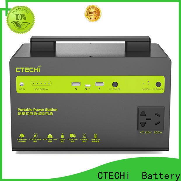 stable portable power station personalized for outdoor