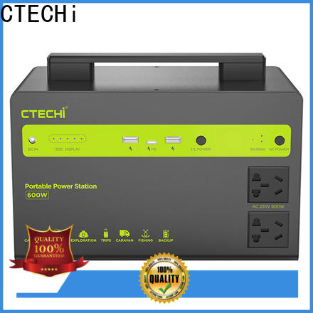 CTECHi outdoor power station personalized for household