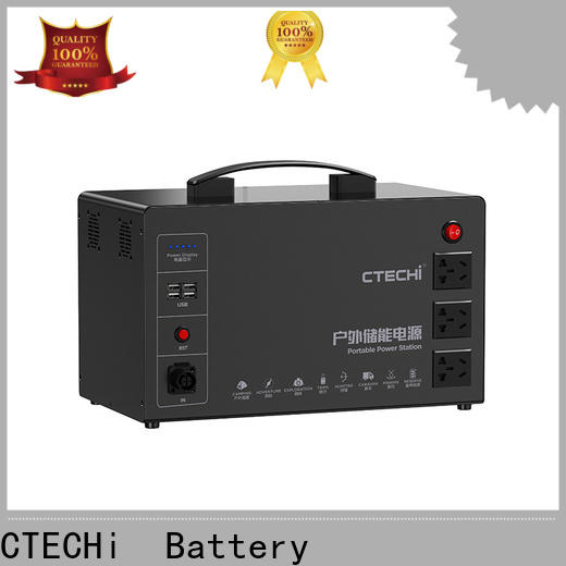 CTECHi battery power station customized for camping