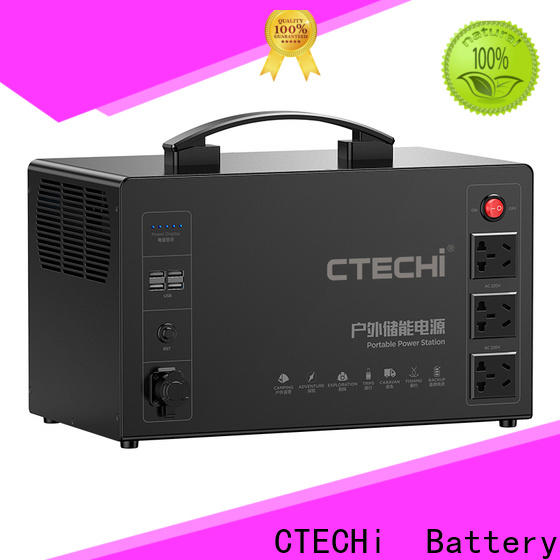 CTECHi stable camping power station customized for commercial