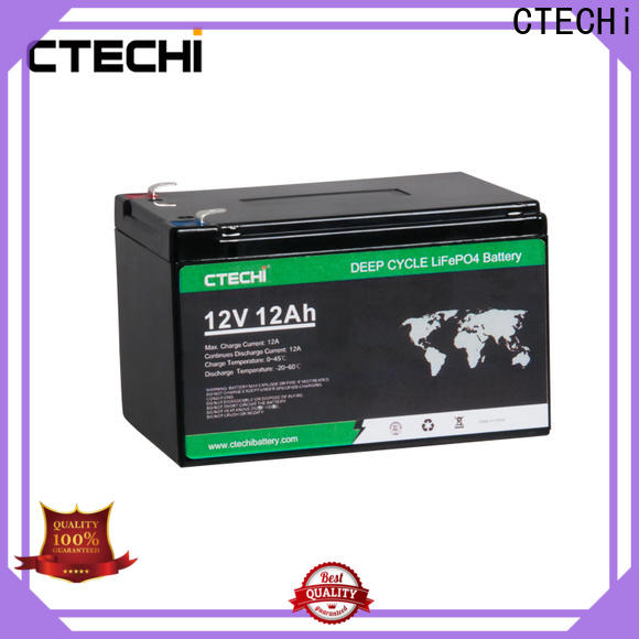 CTECHi high quality lifepo4 power pack manufacturer for Golf Carts