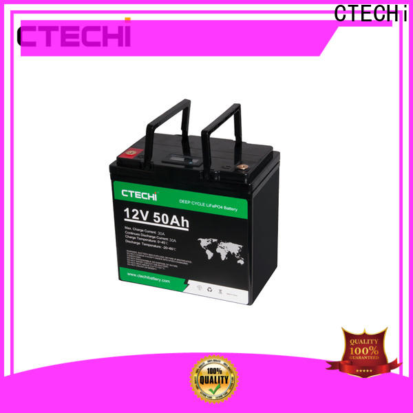 CTECHi lifep04 battery pack customized for Cleaning Machine