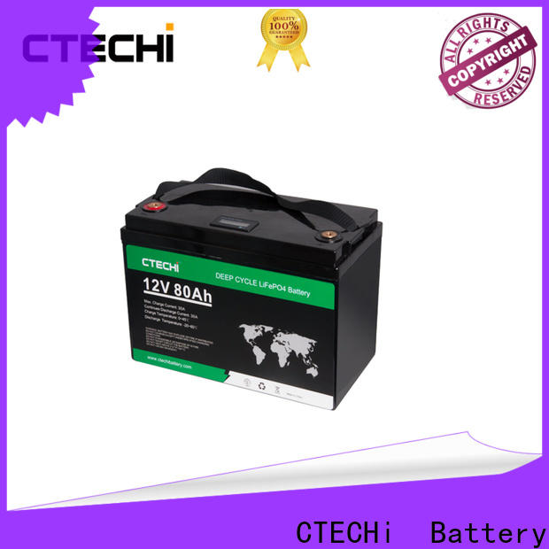 CTECHi lifepo4 pack factory for E-Sweeper