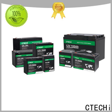 CTECHi LiFePO4 Battery Pack manufacturer for E-Sweeper