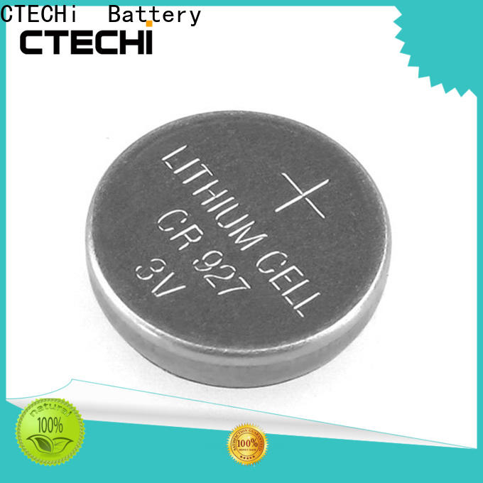CTECHi lithium coin cell customized for camera