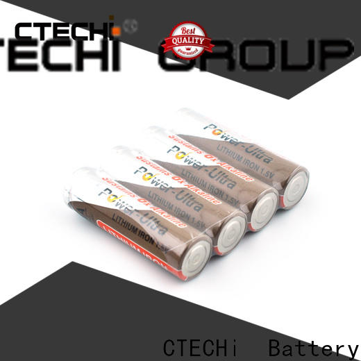 CTECHi aa lithium batteries supplier for remote controls