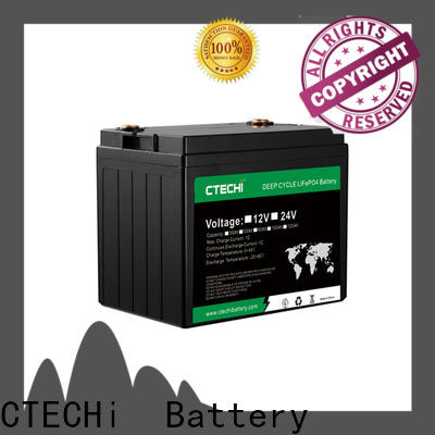 CTECHi lifepo4 pack manufacturer for E-Sweeper