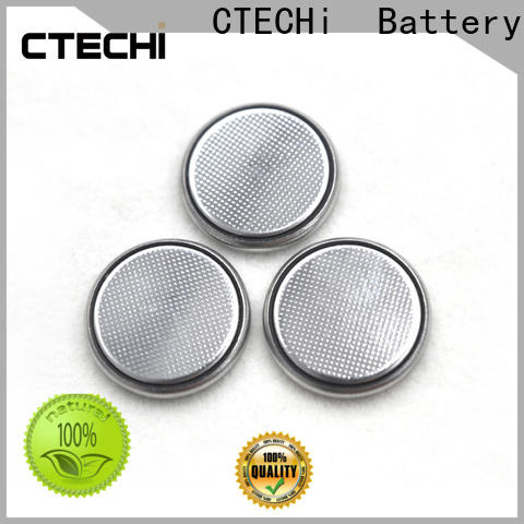 CTECHi rechargeable button cell batteries design for household