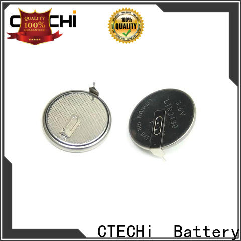 CTECHi rechargeable button batteries factory for calculator
