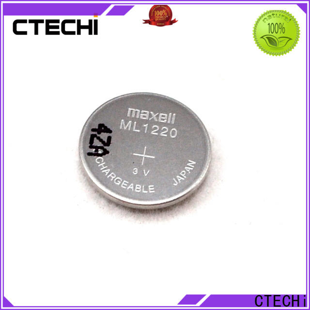 electronic rechargeable coin cell manufacturer for household