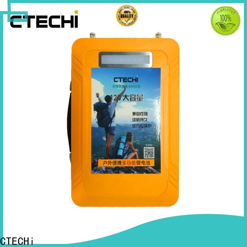 CTECHi multifunctional 24v lifepo4 battery supplier for RV