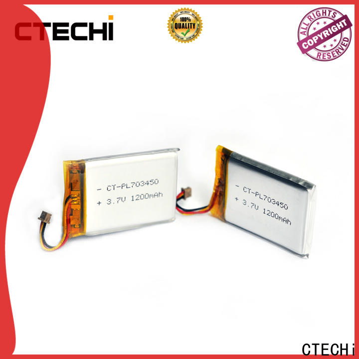 quality li-polymer battery supplier for electronics device