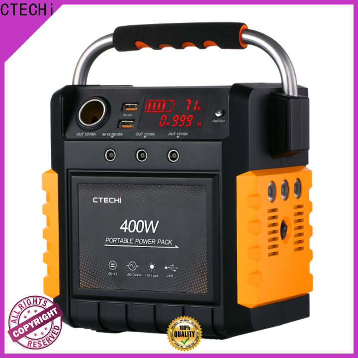 CTECHi best power station personalized for commercial
