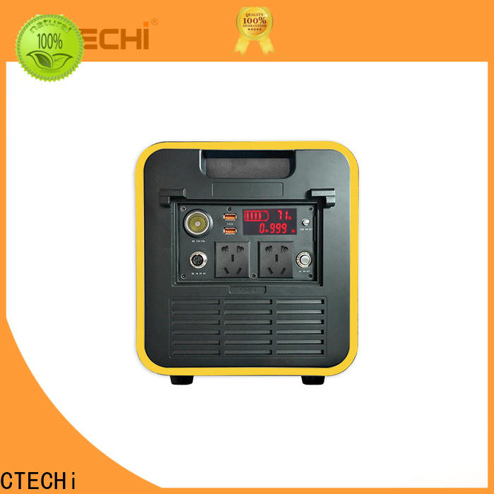 CTECHi stable lifepo4 power station manufacturer for hospital