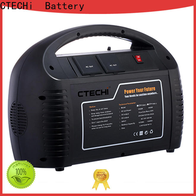 CTECHi professional mobile power station factory for back up