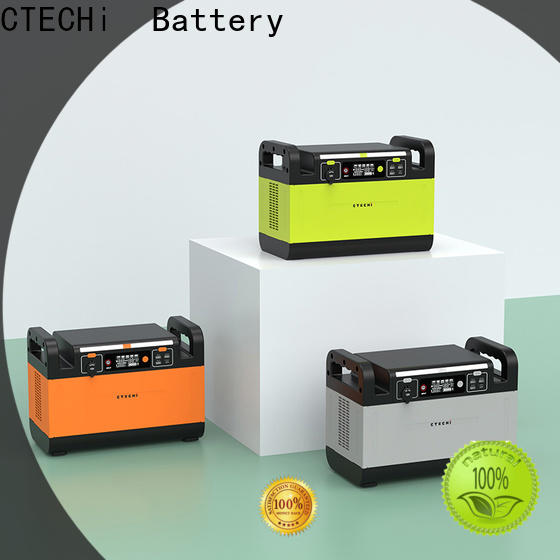 CTECHi sturdy battery power station manufacturer for outdoor