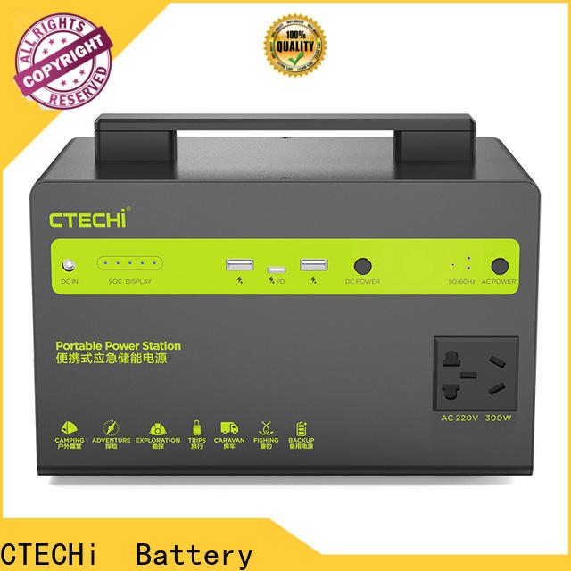 quality camping power station manufacturer for back up