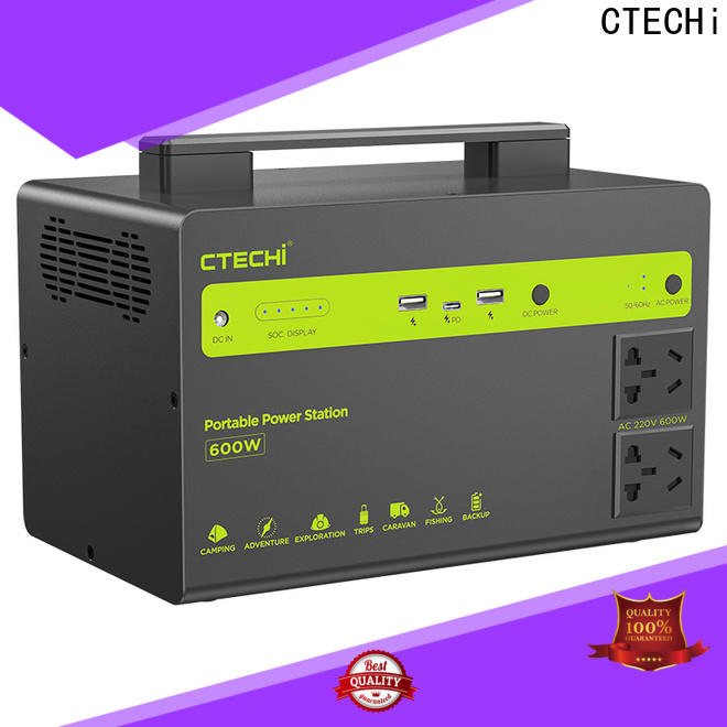CTECHi certificated lithium ion power station manufacturer for commercial