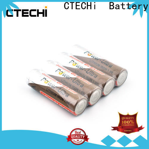 CTECHi long-lasting aa lithium batteries supplier for cameras