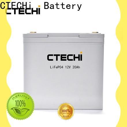 CTECHi lifepo4 battery case manufacturer for E-Forklift