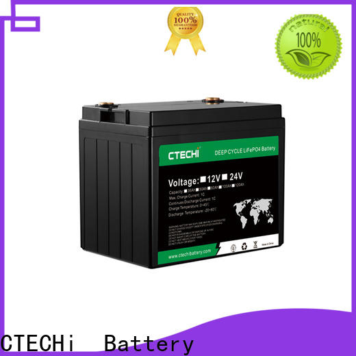 CTECHi high quality lifep04 battery pack factory for Golf Carts