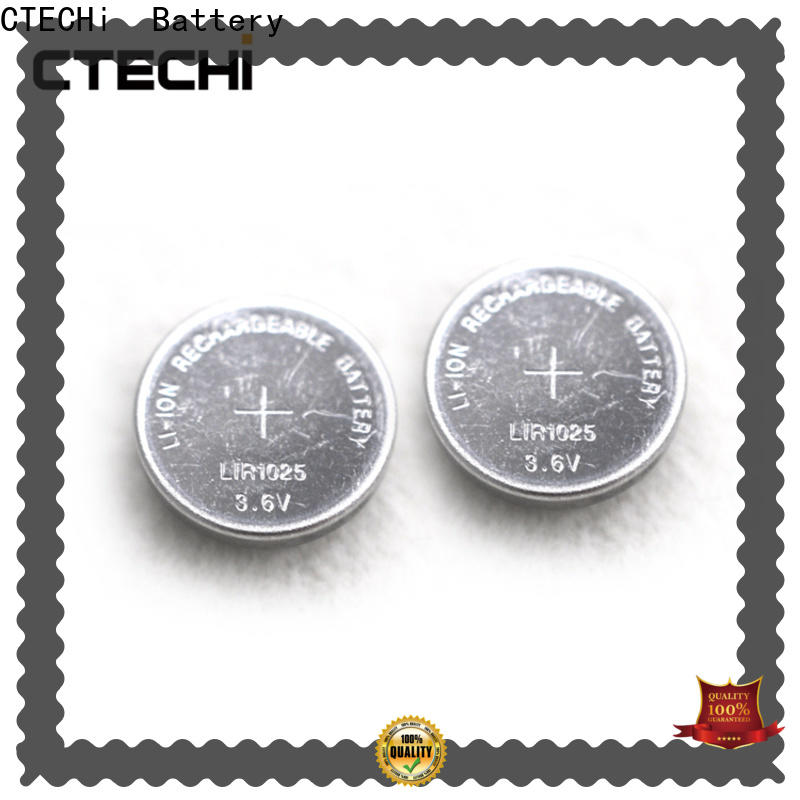 CTECHi electronic rechargeable cell battery factory for car key