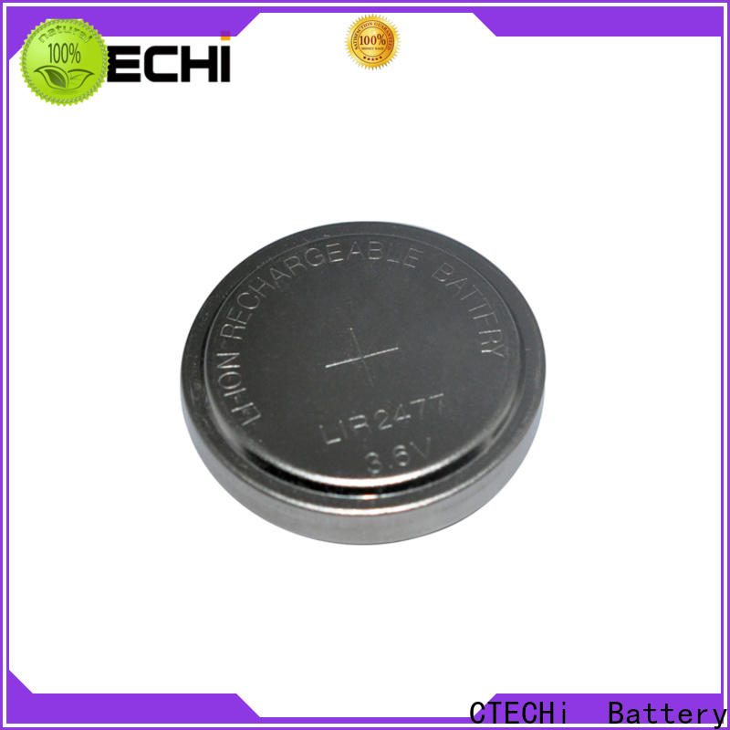 CTECHi rechargeable button cell batteries factory for car key