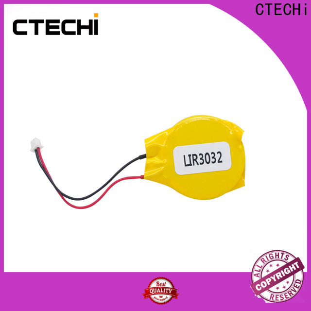 charging rechargeable button cell design for watch