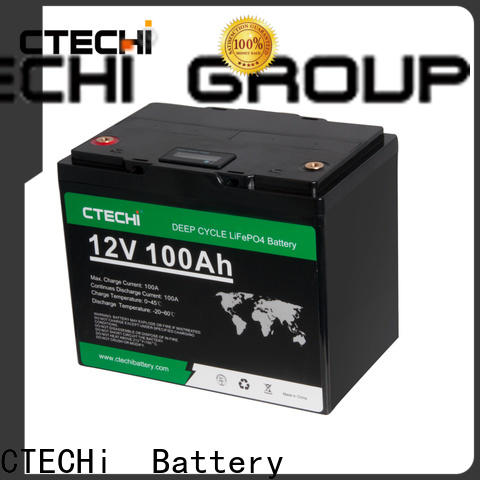 CTECHi stable lifep04 battery pack manufacturer for Cleaning Machine