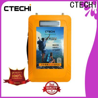 CTECHi multifunctional lifepo4 battery 12v supplier for RV