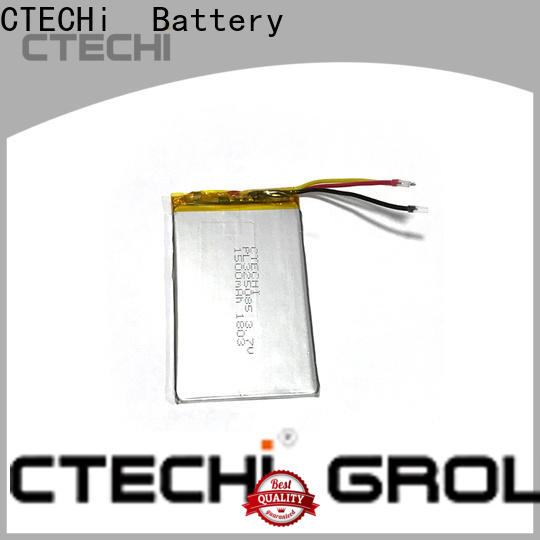 CTECHi digital lithium polymer battery supplier for electronics device