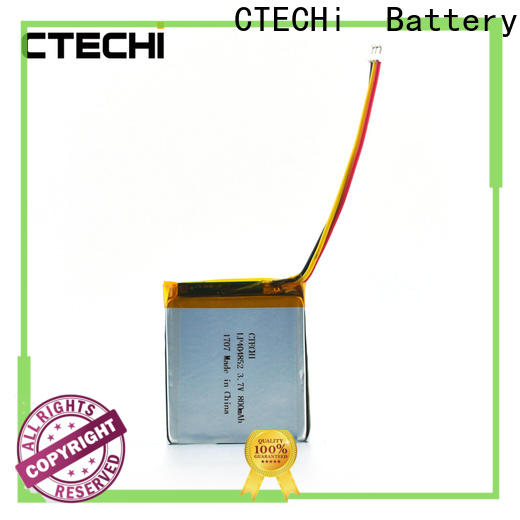 CTECHi 37v lithium polymer battery life personalized for electronics device