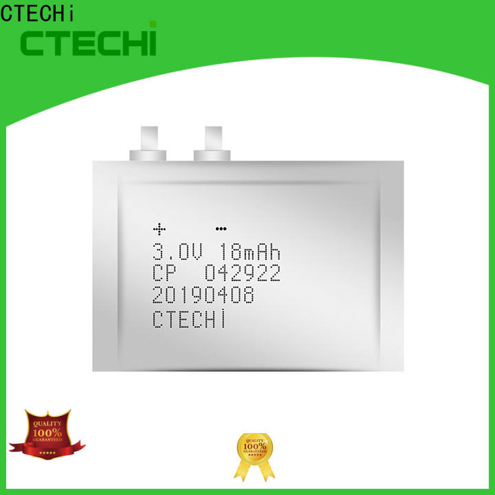 CTECHi ultra-thin battery series for factory
