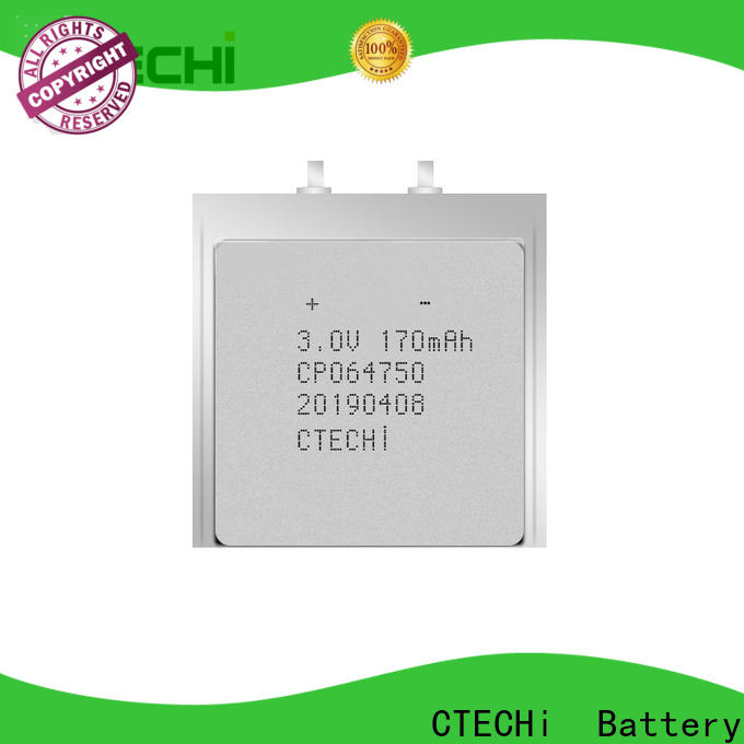practical ultra-thin battery from China for manufacture