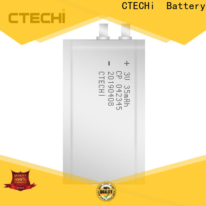 CTECHi quality micro-thin battery customized for industry