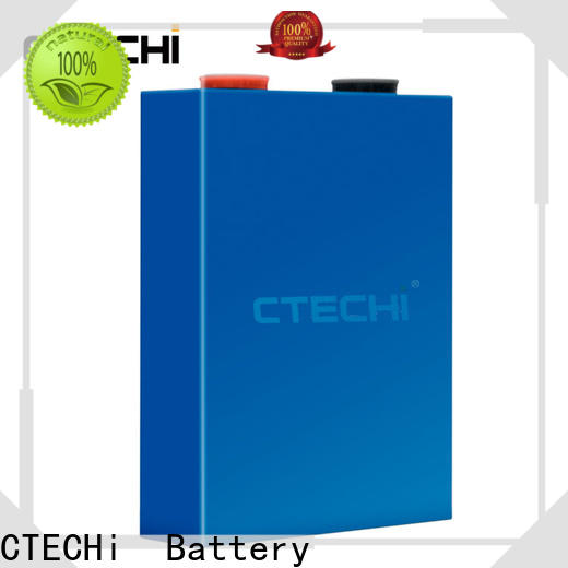 CTECHi 12v lifepo4 battery cells personalized for golf car