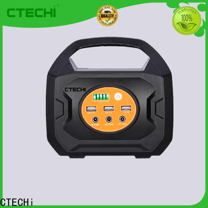 CTECHi quality lithium ion power station factory for back up