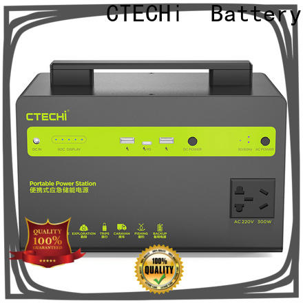 CTECHi mobile power station customized for camping