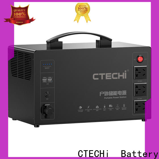 CTECHi quality lithium portable power station factory for outdoor
